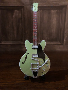 Collectable Miniature Guitar - Green