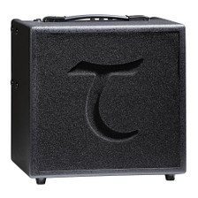 The Tanglewood T6 acoustic amplifier is a fully equipped 2 channel, 60 watt combo amplifier with a 10 inch speaker; perfect for the gigging musician. Featuring one channel for your guitar and a second for a mic/line signal, they both benefit from independent EQ and gain controls. The built-in digital FX will take your performance to another level with 2 stylistic reverbs, chorus and delay. If this isn't enough, we've even included an external FX loop! The T6 is designed to work in perfect harmony with the Tanglewood TXS external sub speaker. Other features include: Mp3/ Auxiliary input Headphone socket Line out DI out (for use with TXS) 35mm recessed speaker pole socket