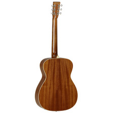 Carefully designed to offer an authentic tone and character by master luthier Michael Sanden, the influence of Michael on the sound of these wonderful guitars is very evident. Just three body styles are needed to meet any players requirement... Folk, Dreadnought and Slope Shoulder, all fitted with Fishman Sonitone electronics onboard. The solid Spruce tops are tuned, braced, and aged to produce optimum performance and their understated looks are certainly deceiving, the minute you strum a chord and hear how great they sound you'll find a Sundance Historic guitar very difficult to put back down.    SHAPE: Orchestra TOP: Solid Spruce BACK: Mahogany SIDES: Mahogany NECK (MATERIAL): Mahogany FINGERBOARD: * BRIDGE: * BINDING (TOP): ABS Black & White BINDING (SIDE): ABS Ivory SADDLE: Bone, Compensating NUT (WIDTH): Bone (44.5mm) SCALE LENGTH: 650mm BRIDGE PINS: Ivory ABS with Black Dots MACHINE HEADS: Open Back Waverly style FINISH: Natural Gloss EQ: Fishman Sonitone STRINGS: Elixir Nanoweb Light 12's CASE: Includes Deluxe ABS Hardcase SKU: TW40OANE RANGE: Sundance Historic UPC: 810944014885 *Timber in accordance with Cities regulations