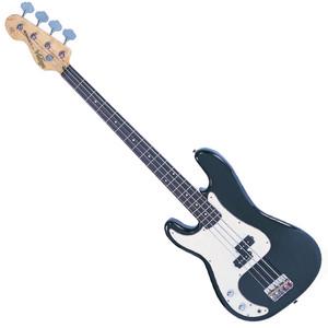 "<p><span>The Vintage V4 bass with the classic &lsquo;split coil&rsquo; pickup design, powered by Alnico V magnets for maximum low end tone, is very much in keeping with the authentic looks and feel of this style of versatile and capable left hand bass guitar. In Boulevard Black.</span></p> <ul> <li>Body: Eastern Poplar</li> <li>Neck: Hard Maple &ndash; Bolt On</li> <li>Scale: 34""/864mm</li> <li>Frets: 20</li> <li>Neck Inlays: Pearloid Dot</li> <li>Tuners: Wilkinson&reg; WJBL200</li> <li>Bridge: Adjustable</li> <li>Pickups: Wilkinson&reg; BP x 1 (M) WBP</li> <li>Hardware: ChromeControls: 1 Volume/ 1 Tone</li> </ul> <p><span>So good, it should become the industry standard....</span></p> <p><span><span>&nbsp;</span></span></p>"