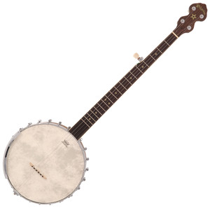 The Jubilee's classic lines and attention to detail combined with its outstanding playability and tonal characteristics is not only the ideal banjo for students taking their first steps, but also equally at home with more experienced players.