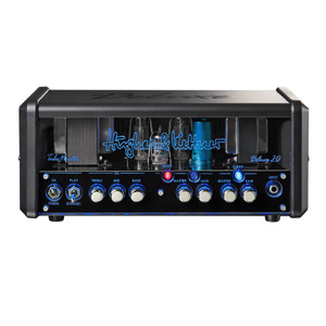 <p>The&nbsp;<strong>Hughes and Kettner TubeMeister Deluxe 20 Guitar Amplifier Head&nbsp;</strong>is an all-valve guitar amplifier head, with a 20W power output, and channels including clean, lead + boost, and a serial effects loop. Deluxe tones take you from pure, pristine cleans to an authentic brown sound and devastatingly powerful modern-day high gain, all influenced by the most beloved channels of H&amp;K's flagship TriAmp Mark 3.</p> <p>The TubeMeister Deluxe 20 makes your job as a guitar player better sounding and easier. The real power soak lets you switch between the full 20 Watts of power, 5 Watts, 1 Watt, or even 0 Watts for truly silent recording at any time of day or night. The TubeMeister Deluxe 20 is also the first tube amp ever to offer you a genuine FRFR (full range flat response) amp sound experience.</p> <p>The groundbreaking Red Box AE (Ambience Emulation) DI output lets you connect your guitar direct to your recording setup or the PA, so it&rsquo;s perfect for stage and studio work. It also delivers a perfect mix of authentic 4&times;12 cabinet ambience effects and an ultra-direct attack of pure tube tone.</p> <p><strong>The main features of the Hughes and Kettner TubeMeister Deluxe 20 Guitar Amplifier Head include:</strong></p> <ul> <li>Channels: Clean, Lead + Boost</li> <li>Power: 20W</li> <li>Power Soak: 5 , 1, 0 Watts</li> <li>Power Amp: 2x EL84</li> <li>Preamp: 2x 12AX7</li> <li>TSC</li> <li>Effects Loop: Serial</li> <li>Red Box: Red Box AE (Ambience Emulation)</li> <li>Switching Functions: Channels, Boost</li> <li>Speaker Outputs: 1x 8-16 &Omega;</li> <li>Dimensions: 355 x 155 x 150 mm</li> <li>Weight: 5 kg</li> <li>Protective Cover Included</li> </ul>