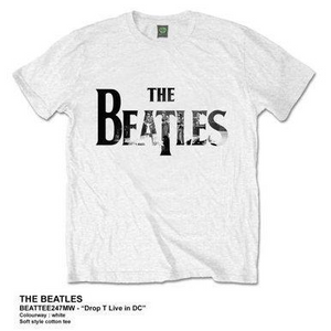 THE BEATLES MEN'S PREMIUM TEE: DROP T LIVE IN DC