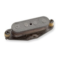 """Summary Vintage correct, rop-in replacement for Fenders early soldibody mandolins.  Description Seymour started making this pickup back in the early 80s when there was a big surge in Mandolin popularity. This single coil mandolin pickup is recreated to fit into early solid body mandolins. The coil is wound """"top going"""" and north polarity like the original. The replacement mandolin pickup comes with mounting screws, schematic, and is wax-potted. Hookup wire is the classic """"push back"""" cloth braid wire."""