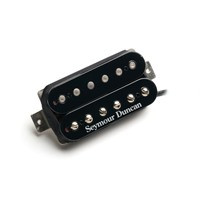 Application  High output humbucker for use in bright guitars. Great for pop, country, blues, classic rock and heavy rock.  Description  The Custom Custom humbucker delivers that familiar alnico 2 warmth, along with the rich midrange harmonics of a hotter pickup. The result is a humbucker that sounds full, and sweet, and has a warm lower midrange growl that really brings chords to life. The Custom Custom has a fatter treble response than any other pickup, and that gives solos a round, sweet, singing quality. Great for adding fullness and warmth to any humbucker equipped instrument. Pair with the Jazz model, or Pearly Gates model in the neck for a balanced, versatile setup. Hand built in Santa Barbara, CA, the Custom Custom model uses an alnico 2 bar magnet, nickel silver bottom plate, 4-conductor lead wire for multiple wiring options, and is vacuum wax potted for squeal-free performance.