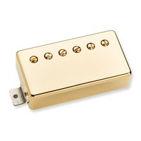Summary Warm, full sounding Jazz humbucker with lots of top end clarity. Great for any Jazz box.  Description The Benedetto A-6 is a fat, punchy humbucker that produces a fat, warm, yet highly articulate Jazz tone. At almost 12k, the A-6 packs a bigger punch than the P.A.F. model, and the alnico 5 bar magnet gives it a very musical treble response. Hand built in Santa Barbara, CA, the Benedetto P.A.F. uses an alnico 5 bar magnet, 4-conductor lead wire, and is available with either a gold cover or a black nickel cover.