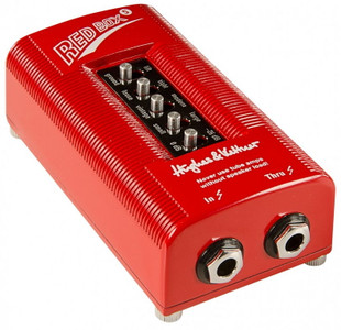 "<h2 id=""prodh2"">Hughes &amp; Kettner Red Box 5 Cab Emulated DI Box</h2> <p>Since its late-'80s release, the original Hughes &amp; Kettner Red Box has been the standard tool for capturing the sound of guitar amps without using microphones. The Red Box 5 is the latest version of the award winning industry-standard DI box with speaker simulation, now with new filtering options for small/large housings, modern/vintage speakers, and loose/tight response of the cabinet. It delivers unvarying sound quality at every gig or recording session, putting an end to crosstalk with other instruments or hassles of experimenting with microphone placement.</p> <p>Thanks to this clear, direct sound, Red Box 5 will endear you to every seasoned PA tech and studio engineer. The Red Box does not sound like a mic&acute;ed cab, it sounds likle the cab itself! And the secret behind many of today's best sounding guitar tracks is that they are double-tracked with a microphone and a Red Box, or that the pure Red Box signal is run through microphone- and room-emulating software plug-ins. This enables a perfect mix of ambience and ultra-direct attack.</p>"