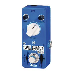 "<p>XVIVE TONE SHAPER EQUALIZER MICRO PEDAL</p> <p>Tone Shaper Equaliser??</p> <ul> <li>Two-Band Equalizer?</li> <li>Two multi-pole sharp cutoff filters?</li> <li>Up to 6db Gain?</li> <li>Works with bass or guitar</li> <li>Maximizes tone flexibility of instrument?</li> <li>Lows/Highs/Level Control?</li> <li>Excellent dynamic response?</li> <li>Simple, easy to use design?</li> <li>100% Analog design with True Bypass circuitry?</li> <li>""Effects on"" indicator light?</li> <li>Original XVIVE tone?</li> <li>Micro pedal package?</li> <li>Durable all-metal housing</li> </ul>"