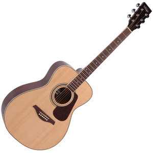 <p>VINTAGE FOLK GUITAR- SOLID TOP- NATURAL</p> <p>The Guitar Magazine awarded the V300 &lsquo;Best Acoustic Guitar Under &pound;1000' in their end of year round up.&nbsp; &lsquo;This little concert acoustic is stonkingly good,' continued TGM, adding, &lsquo;A comfortable, fast playing neck, plus good dynamics and volume from the parlour-esque body.&nbsp; At this price, go buy.&nbsp; Every home should have one.'</p>
