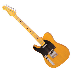 <p>VINTAGE V52 LEFT HANDED ELECTRIC GUITAR - BUTTERSCOTCH</p>