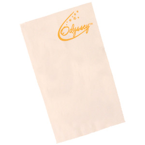 "• Microfibre polishing cloth suitable for all instrument surfaces. • 28cm/11"" x 16cm/6.5""."