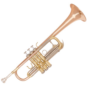"<div><strong>Specification</strong><br />&bull; Rose brass bell and lead pipe</div> <div>&bull; Cupronickel outer tuning slides</div> <div>&bull; Single braced main tuning slide</div> <div>&bull; Monel valves</div> <div>&bull; One water key</div> <div>&bull; Mouthpiece 7C inc</div> <div>&bull; Clear lacquer finish</div> <div>&bull; Bell diameter: 4.79""/121.7mm</div> <div>&bull; Bore size: 0.46""/11.73mm</div> <div>&bull; Zero-gravity &lsquo;backpack&rsquo; hard foam case Canvas covered, plush lined with shoulder straps</div> <div>&bull; Accessories Gloves, oil, cleaning cloth</div> <div>&bull; Includes additional tuning and valve slides to allow the trumpet to be tuned to Bb</div>"
