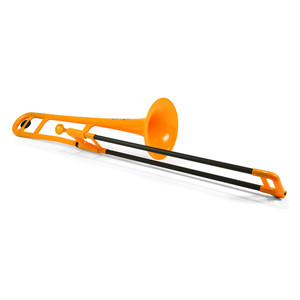 """<div> <div>The Jiggs pBone is a truly authentic musical instrument that has already started to revolutionize the way we think about trombones and brass instruments.</div> <div></div> <div>It's a fully functioning, medium bore Bb tenor trombone designed in the UK for brass players by brass players.</div> <div></div> <div><strong>Durable</strong></div> <div>pBone is remarkably tough. It can take knocks and bumps in its stride. The pBone is therefore perfect to allow beginners to explore the trombone without any fear of damage.</div> <div><strong></strong></div> <div><strong>Accessible</strong></div> <div>At less than half the weight of a brass trombone the pBone is ideal for the younger player and for all those who may have difficulty with the weight and</div> <div>balance of a metal trombone.</div> <div><strong></strong></div> <div><strong>Ergonomic</strong></div> <div>The pBone has been thoughtfully designed to allow hands of various shapes and sizes to find a comfortable and effective grip of the instrument. This</div> <div>encourages good posture and the correct hand positioning. The ergonomic features of the pBone allow those with limited or restricted use of their hands and arms to engage with the trombone.</div> <div><strong></strong></div> <div><strong>Slide</strong></div> <div>The composite slide tubes lap in over time so the slide gets better and better with use. The unique strength of the glass fibre material means that """"dings and dents"""" in your slide are a thing of the past!</div> <div><strong></strong></div> <div><strong>Robust</strong></div> <div>All ABS parts are extremely durable and our unique one-piece bell and gooseneck design is extraordinarily strong. The glass fibre slide tube is immeasurably stronger than fragile brass tubing and will withstand collisions that would demolish a traditional brass trombone slide. pBone may not be indestructible but it is certainly the most durable and robust trombone ever produced!</div> <div><strong></strong></div"""