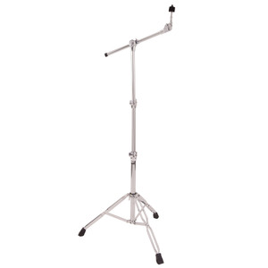 32mm and 25mm diameter steel tubing. Heavy duty, double braced, wide span,two tier stand with fully adjustable boom arm. These PP Drums stands have incredibly smooth action and rock solid clamping brackets so they won't let you down when you need it most! Large non-slip feet ensure your stands stay put under the heaviest use.