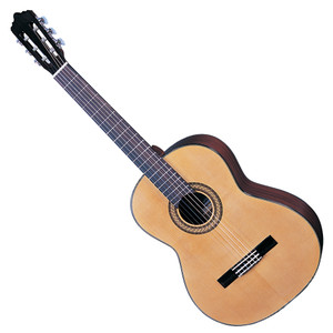 <p>SANTOS MARTINEZ ESTUDIANTE LEFT HAND CLASSIC GUITAR</p> <p>Selected solid spruce top and mahogany back and sides, one of the most traditional timber selections for classical guitar construction imbue the Estuduiante with a blend of mellow mids, strong bass, and sparkling treble. With cosmetic features such as multi ply binding, and pearloid butterfly machine head buttons, this Santos Martinez looks as beautiful as it sounds. Full Specification Solid Spruce top Mahogany back &amp; sides Multi-ply binding Eastern mahogany neck Black rosewood fingerboard Black rosewood bridge Chrome plated/pearlised butterfly button machineheads High quality USA made strings Natural &ndash; gloss finish</p>