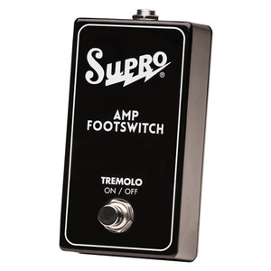 SUPRO SINGLE FOOTSWITCH TREMOLO ON/OFF REMOTE