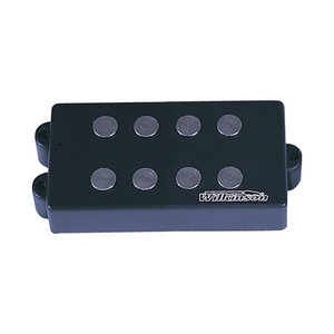 Large double-row polepiece design for this humbucking bass pickup offers a big-toned output. Featuring ceramic magnets, these pickups have a high harmonic content reinforced with fat and funky bass tones.