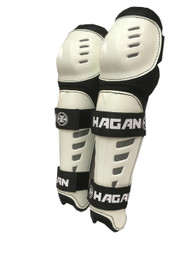 H-5 Shin Guards (White)
