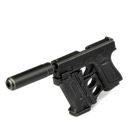 Hot Toys - GI Joe Roadblock : Glock w/Duster & Silencer