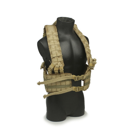 Toys City - Navy Seal Recon Diver : M.KHAKI MLCS H-Harness