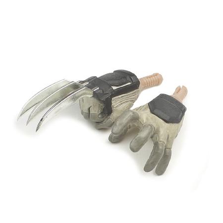 Sideshow - GI Joe Storm Shadow : Claw Fighting Hands
