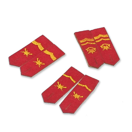 DiD - Chinese PLA Medical Services : Shoulder Boards x3 Pairs
