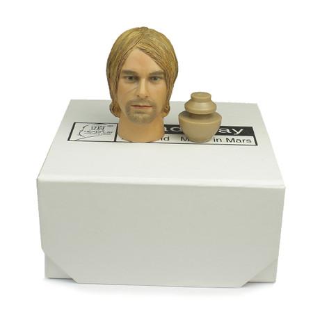 """Headplay - Boxed Head w/Joint """"Kurt - Dk Hair"""""""