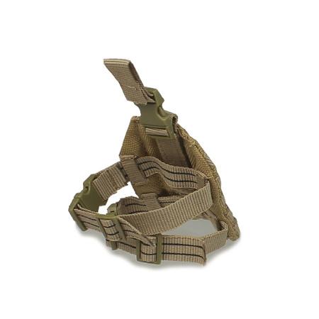 Crazy Dummy - US Navy Seal Team 3 MK 46 Gunner : MLCS Drop Leg Panel (Copy of CD78001L-03)