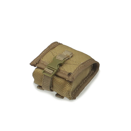 Crazy Dummy - US Navy Seal Team 3 MK 46 Gunner : Coyote Tan NVG Pouch (CD78001L-05)