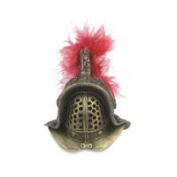 Kaustic Plastik - The Gladiators School of Pompeii Myrmillo Thraex Hoplomachus : Myrmillo Helmet (Metal) (KP004L-05)