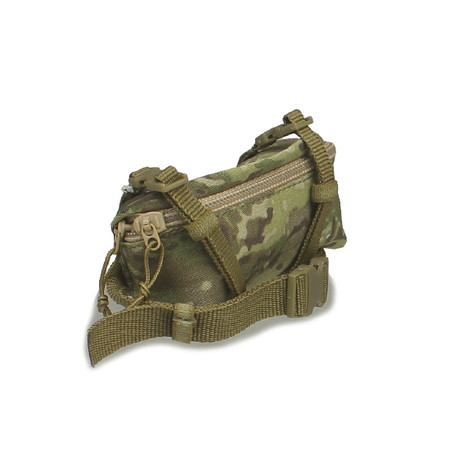 Crazy Dummy - US Army SAW Gunner In Afghanistan : OCP Multicam Butt Pouch (CD78004L-07)