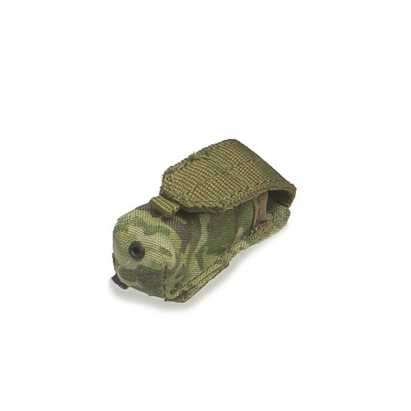 Crazy Dummy - US Army SAW Gunner In Afghanistan : OCP Multicam Smoke Pouch (CD78004L-12)
