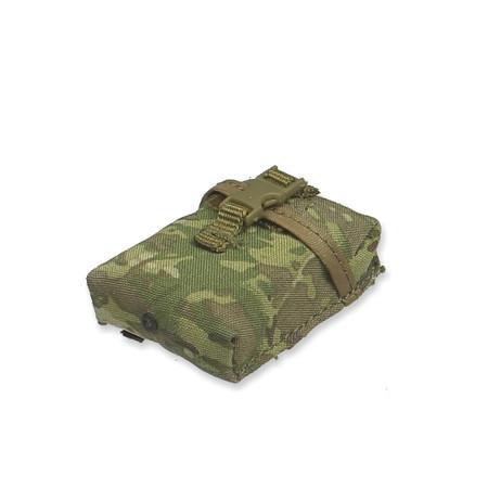 Crazy Dummy - US Army SAW Gunner In Afghanistan : OCP Multicam 200rd Ammo Pouch (CD78004L-15)