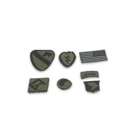 Crazy Dummy - US Army SAW Gunner In Afghanistan : Velcro Patches (CD78004L-26)