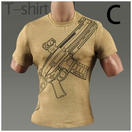 MC Toys - Weapon T Shirt : Type C (MCM022-C)