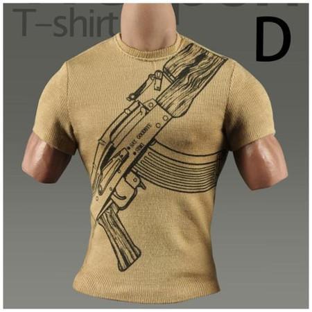 MC Toys - Weapon T Shirt : Type D (MCM022-D)