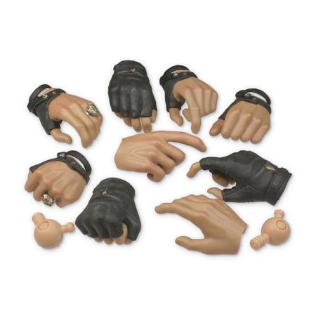 Hot Toys - Ex 2 Barney Ross : Hands LOT (MMS194L-03)