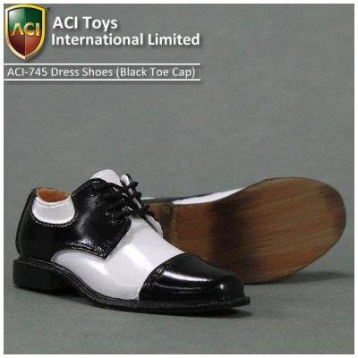 ACI Toys - Moda Dress Shoes (Blk Toecap)