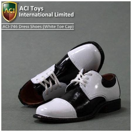 ACI Toys - Moda Dress Shoes (Wht Toecap)