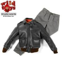 Wild Toys - A2 Leather Jacket Set (Black)