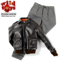 Wild Toys - A2 Leather Jacket Set (Worn Black)