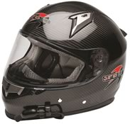 Quiet Ride Helmets Carbon Fiber Full Face Helmet