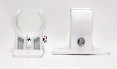 Tension Adjustable Bracket in white
