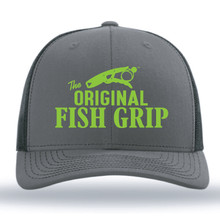 The Fish Grip SnapBack Hat - Green Logo