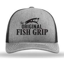 The Fish Grip SnapBack Hat - Black Logo