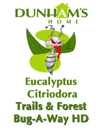 "Dunham's Essentials - Trails and Forest Bug-A-Way HD - Our Heavy Duty Version of our Bug-A-Way - We use our natural lotion base and infused it with Eucalyptus Citrodiora, also called Eucalyptus Lemon.  Keep the bugs away while moisturizing your skin.  Gluten Free - Vegan Friendly - ""Every-Body Deserves Dunham's""  Dunham's Essentials - Dunham's Home"