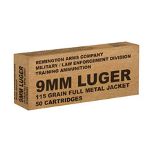 REMINGTON 9MM LUGER 115gr