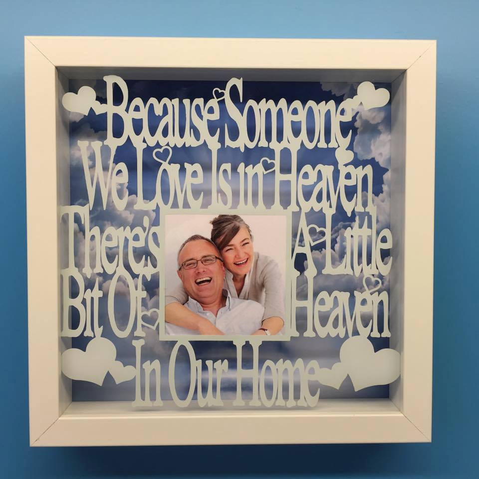 Because Someone We Love Is In Heaven Frame Totesamazewalls