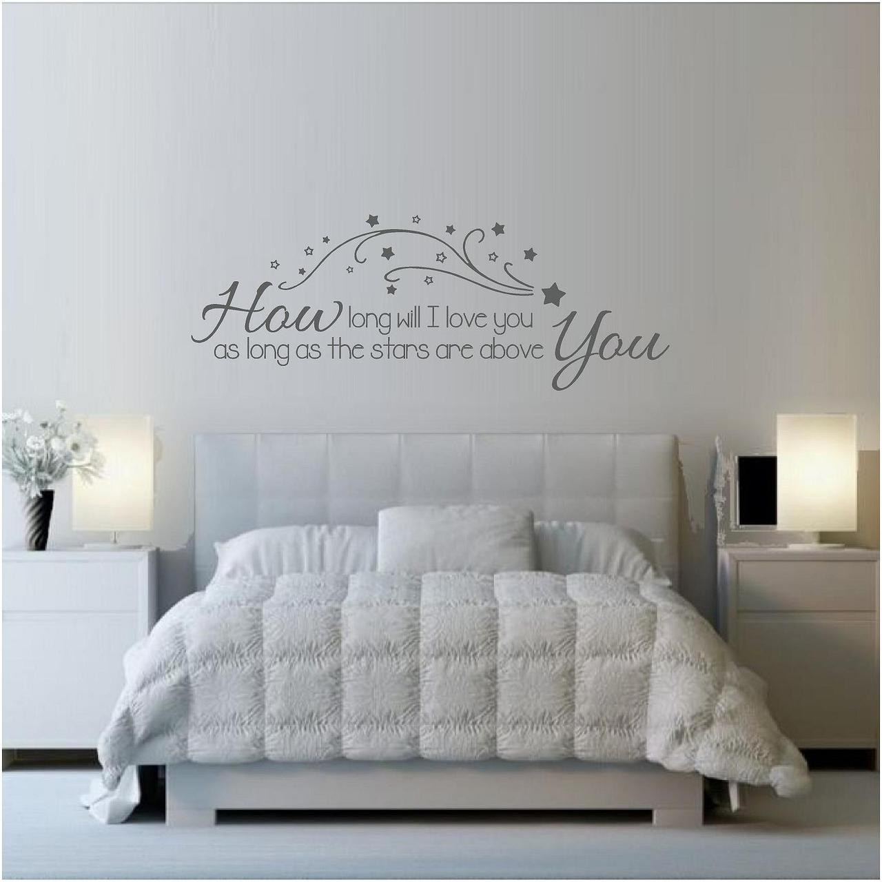How Long Will I Love You? Song Lyrics Wall Art