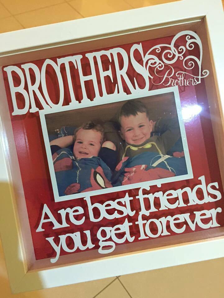 Brothers Are Best Friends You Get Forever Frame Totesamazewalls